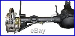 1982-92 S10 S15 Rear Axle Drum to Disc Brake Conversion Kit Cross Drill Slotted
