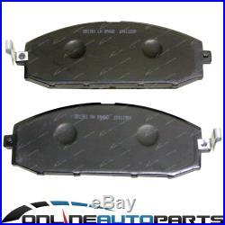 2 Front Disc Rotors Slotted Drilled + Bendix 4wd Brake Pads for GU GR Y61 Patrol