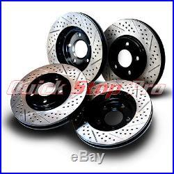 CAD013SD CTS-V Performance Brake Rotor Set 09-15 Double Drill + Diamond Slot