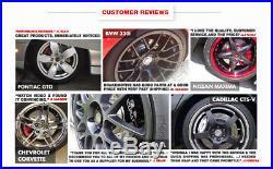 Fits Front & Rear Drill Slot Brake Rotors And 8 Ceramic Pads Buick Cadillac DTS