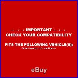 For 2010 Chevrolet Camaro Front Rear eLine Drill Slot Brake Rotors+Ceramic Pads