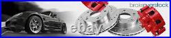 For Honda Civic CRX Del Sol Front Drill Slot Brake Rotors & Ceramic Brake Pads