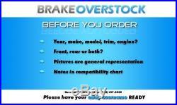 Front Drill Slot Brake Rotors +Ceramic Pads 91 2003 Chevy S10 GMC Jimmy Sonoma