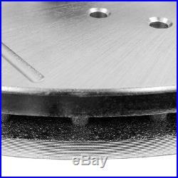 Front Drill Slot Brake Rotors Ceramic Pads For 2000 2002 Dodge Durango Dakota