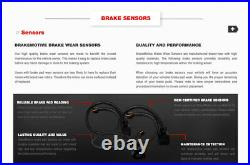 Front Drill Slot Brake Rotors & Ceramic Pads For G10 G20 R10 C1500 G1500 G2500