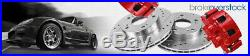 Front Drill Slot Brake Rotors For Ford F150 Mark LT 2WD 2004 2007 2008 6 Lug
