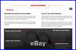 Front+Rear Drill Slot Brake Rotors And Ceramic Pads 2001 2002 2003 2006 BMW X5