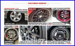 Front+Rear Drill Slot Brake Rotors & Ceramic Pads For 2009 2011 Audi A4 A5 Q5
