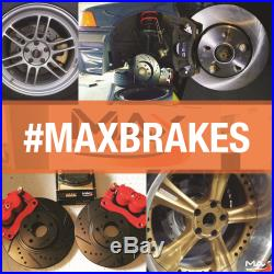 Front + Rear Rotors withCeramic Pads Elite Brakes (Chevy Malibu HHR Cobalt SS)