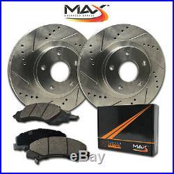 Front Rotors withCeramic Pads Premium Brakes (Escalade Silverado Suburban)
