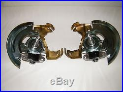 GM Front Disc Brake Conversion Kit 2 Drop Drilled & Slotted Rotors A, F, X Body