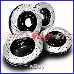 INF035S Q60 Q60S Sport Package Performance Brake Rotor Set Drill + Curve Slot