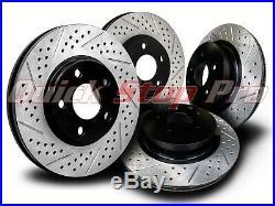 NIS030SD 370Z G37 Sport 355mm Performance Brake Rotor 09-18 Double Drill Diamond
