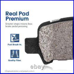 REAR DRILL SLOT BRAKE ROTORS +CERAMIC Pads For 2009 2017 Ram 2500 09 12 3500